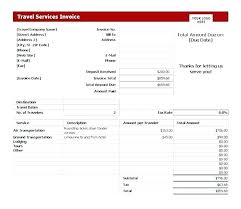 Travel Agency Invoice Form Receipt Format For Lta Claim