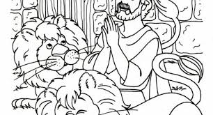 Small Picture daniel in the lions den bible coloring pages Archives Cool