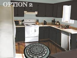 Espresso Painted Cabinets Interesting Brown Painted Kitchen Cabinets C Throughout Design