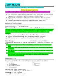 Example Of Military Resume 69 Images Military Resume Example