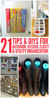 Diy Organization 21 Tips And Diy Organization Ideas For The Home