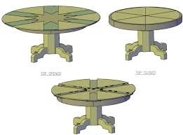 free plans rotating top table