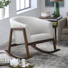 belham living holden modern indoor rocking chair  upholstered