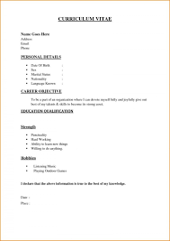 Easy Resume Examples For Free Floss Papers