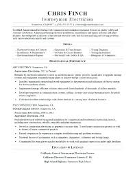 Electrical Apprentice Resume Similar Resumes Electrician Apprentice