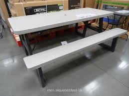 full size of architecture wonderful folding picnic table costco 13 lifetime s 6 foot 2 tables