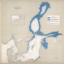 Us Navy Nautical Charts Ice Charts Baltic Sea U S Navy Atlas Of Places Baltic