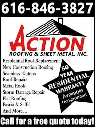 action sheet metal action roofing sheet metal roofing 740 taylor ave grand haven