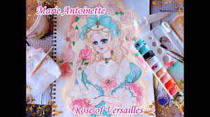 marie antoinette rose of versailles sd painting