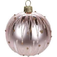 12 Stück Weihnachtskugeln ø6cm 3 Sorten Rosatöne Glaskugeln Weihnachtsbaumkugeln Christbaumkugeln Christbaumschmuck Baumschmuck Dekokugeln