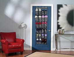 hanging door closet organizer. Interesting Hanging Over The Door Shoe Organizer NUIBY 24 Large Pockets Hanging  Storage Rack Closet In