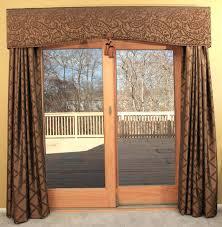 valances for sliding glass doors furniture brown wooden sliding glass door with brown window valances sliding
