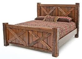 Timbercreek Metal Barnwood Set Qn Bed $1149