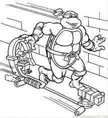 Ninja Turtle Coloring Pictures Teenage Mutant Ninja Turtles Coloring