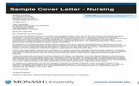 How To Write A Cover Letter Monash Casadozander