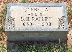 Cornelia Tate Ratliff (1858-1938) - Find A Grave Memorial