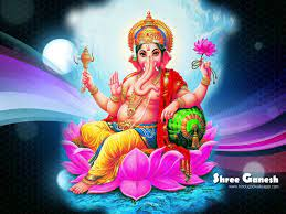 The festival of Lord Ganesha
