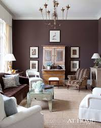 french formal living room. Benjamin Moore\u0027s Wood Grain Brown Paint Sets A Rich, Alluring Tone For The Family\u0027s Formal Living Room. Accent Pieces Such As Mirrored Coffee Table, French Room E