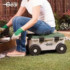 garden gear rotating kneeler tool