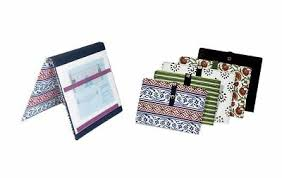 New Knitters Pride Knitting Pattern Holder Fold Up Chart Keeper Various Colors Ebay