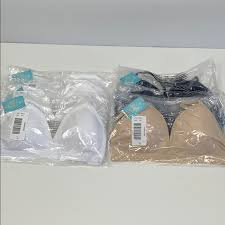 Justice Pack Of 6 T Shirt Bras Size 38 New Nwt