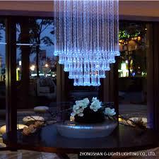 high end club fiber optic chandelier