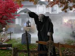 scary halloween decorations front yard decoration ideas halloween props
