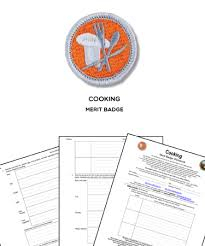 Cooking Merit Badge Cooking Merit Badge Worksheet Requirements