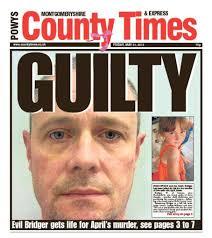 Weekly delays printing to cover April Jones verdict - April-Jones-front-page.pdf