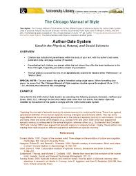 Chicago Manual Of Style By Ronald Reynolds Issuu