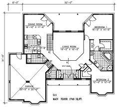 retirement house plans. Contemporary Retirement Retirement House Plan  1 Story 2 Bedrooms Open Floor Plan Large Closet  U0026 Master Bath U003c1800 Sq Ft And Retirement House Plans Pinterest