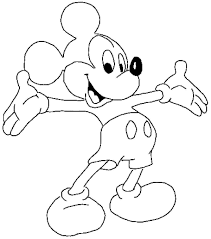 Getcolorings.com has more than 600 thousand printable coloring pages on sixteen thousand topics including animals, flowers, cartoons, cars, nature and many many more. New Coloring Easy Mickey Mouse Coloring Pages Kids Coloring