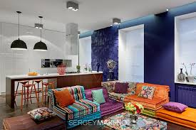 colorful living room ideas. Colorful Living Room Ideas With Simple Sectional Sofa Seating And 3d Wall Cladding 6- H