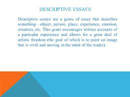 prose essays ppt video online  descriptive essays