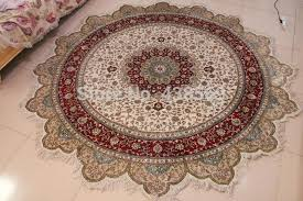 round persian rugs extravagant free 8 x8 hand knotted silk oriental rug in interior design
