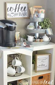 office coffee bar. how to setup a 3tier coffee bar plus free printables office