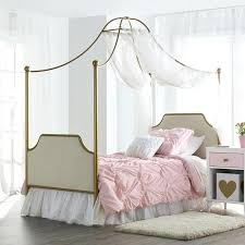 Tein Bed Monarch Hill Clementine Twin Canopy Bed Twin Bed With ...