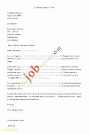 Thank You Resume Letters Example Resume Format Job Valid Cover Letter Thank You For The