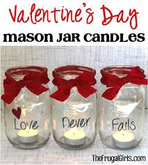 How To Decorate A Mason Jar 100 Mason Jar Valentine Gifts And Crafts 42