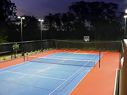 modern outdoor court lighting