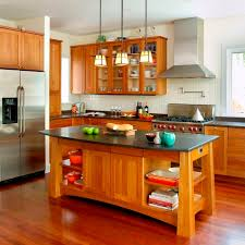 natural cherry kitchen cabinets surfers end kitchen black andes honed granite brazilian cherry floors chrome polished