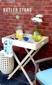 diy furniture west elm knock. DIY Furniture ~ West Elm Knock Off Butler Tray Stand Diy E