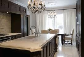 chocolate brown cabinets transitional kitchen toronto