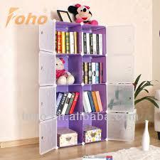 Diy Portable Bookshelves With Door Fh-al0030-8 - Buy Bookcase,Bookshelves,Portable  Bookshelf Product on Alibaba.com