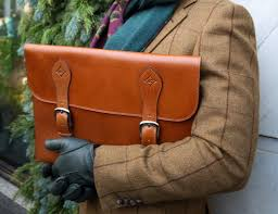 cafritz 15 inch leather portfolio case