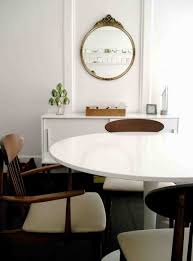 the ikea docksta table would be great in an informal dining room or eat in kitchen