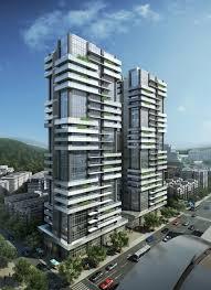apartment building design. Building Facade, Elevation, Facade Design, Modern Apartments, Apartment Designs, Balcony Ideas, Condominium, Facades Design