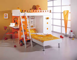 cool bunk bed for boys. Kids Bedroom. Built In Colorful Bunk Bed With Storages, Study Table, And Cool For Boys