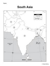 7 best summer learning images on pinterest teaching geography Map Asia Test south asia mapping activity map of asia test