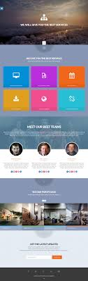 one page website template 30 best html css website templates from august 2013